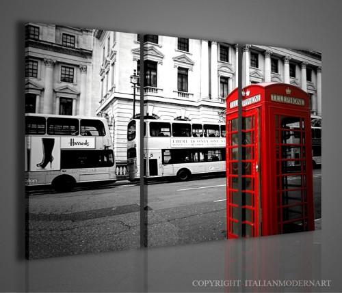 Londra quadri moderni | Quadri moderni