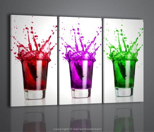 Quadri cocktail bar drink arredamento bar quadri moderni for Stampe d arredo