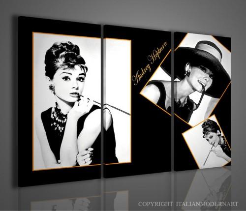 Quadri attori famosi cinema quadri moderni for Dipinti moderni bianco e nero