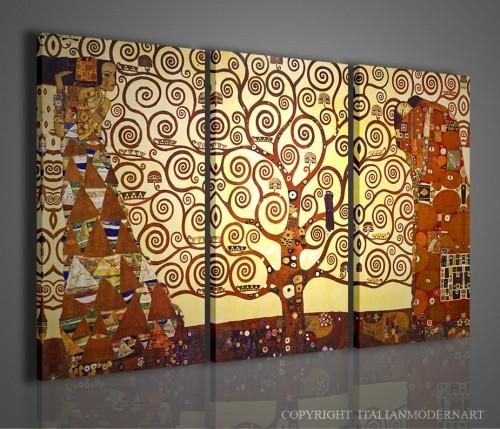 Quadro gustav klimt l albero della vita vendita quadri quadri moderni italian modern art 2009 - Quadro moderno camera da letto ...