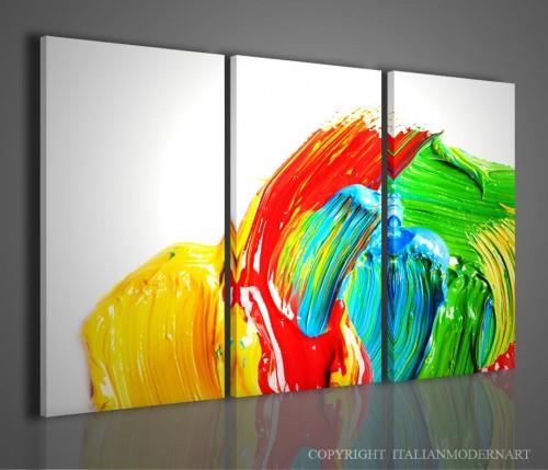 Quadri moderni stampati effetto dipinto a mano quadri for Dipinti a mano moderni