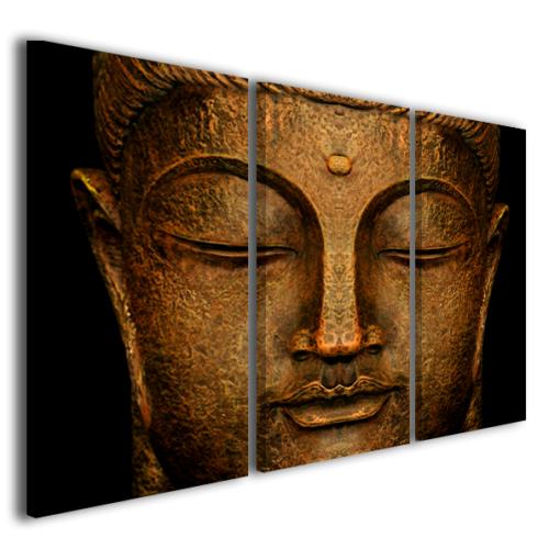 Quadri moderni buddha stampe su tela canvas