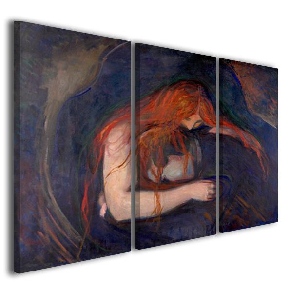 Quadri famosi Edvard Munch Il vampiro